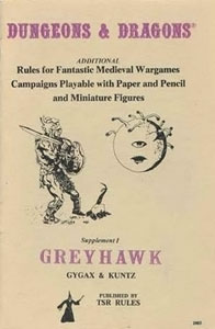 Greyhawk Supplment I
