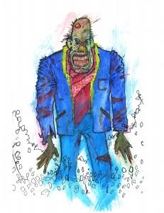 Pimp Zombie